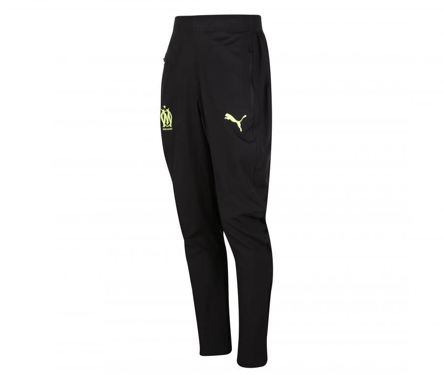 OM Woven Men's Football Pants Black