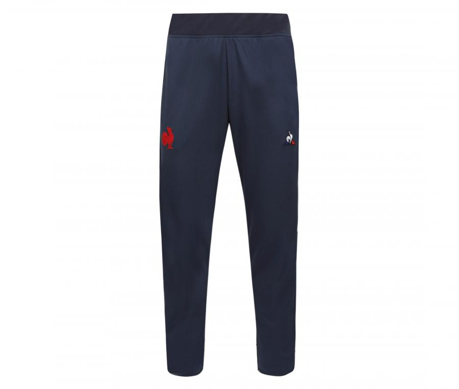 Pantalon Entraînement France Rugby Bleu