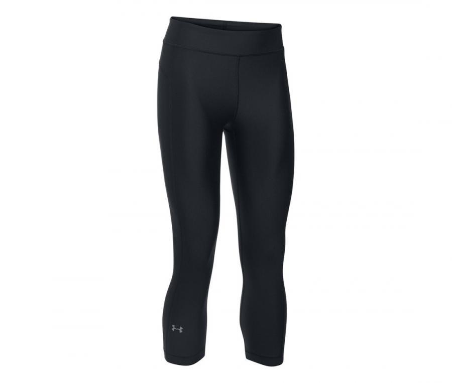 Legging UA HeatGear Capri Femme Noir