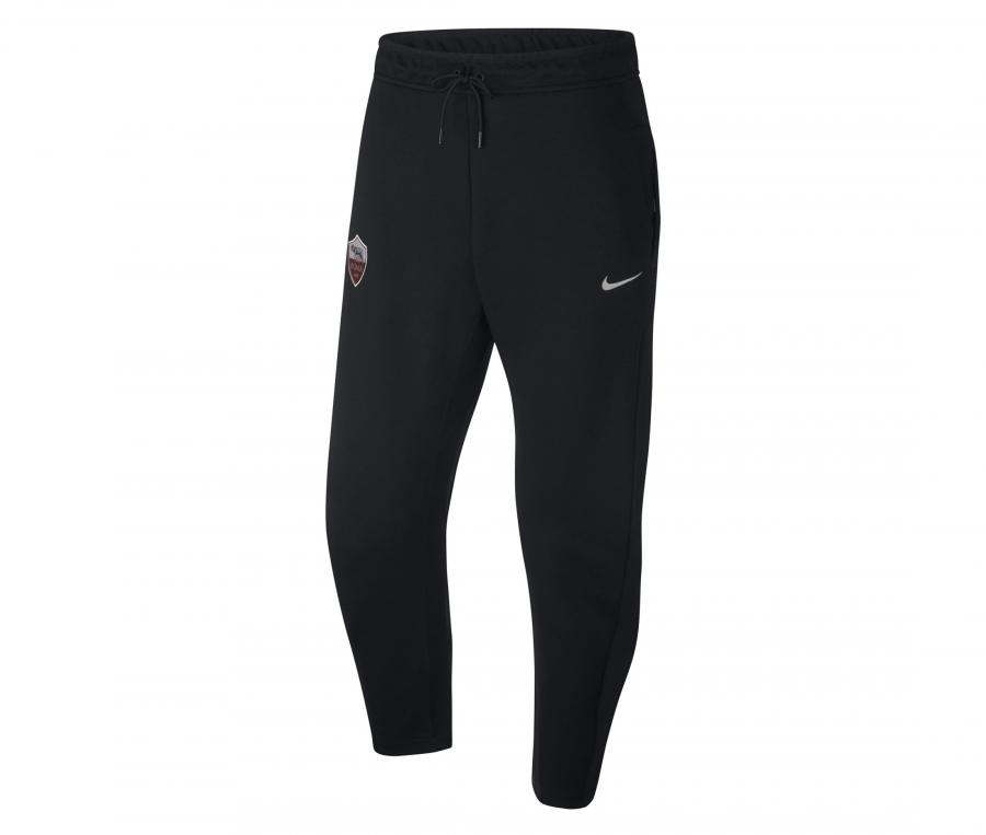Pantalon AS Roma Tech Fleece Noir
