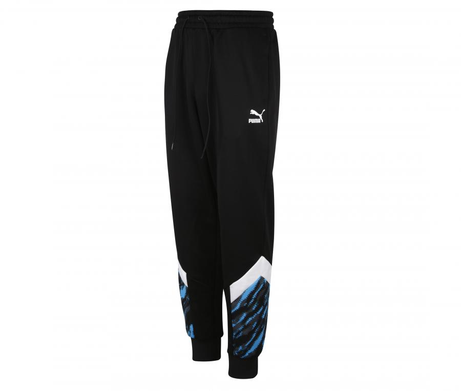 Pantalon OM Iconic Graphic Noir/Bleu