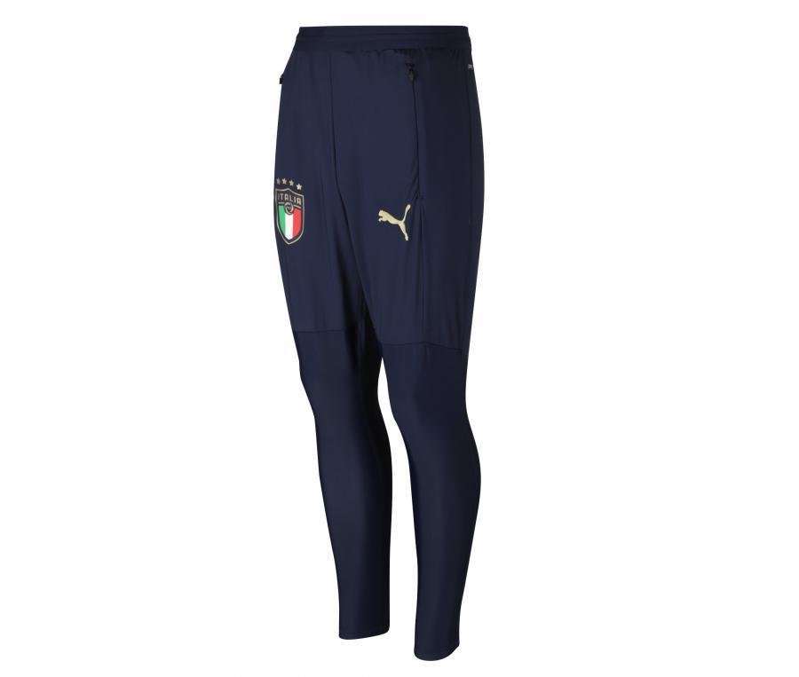 Pantalon Entraînement Italie Pro Bleu Junior