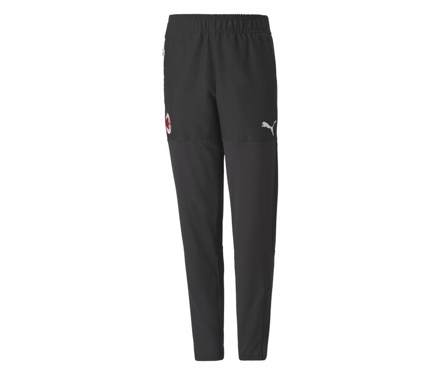 Pantalon Entraînement AC Milan Noir Junior