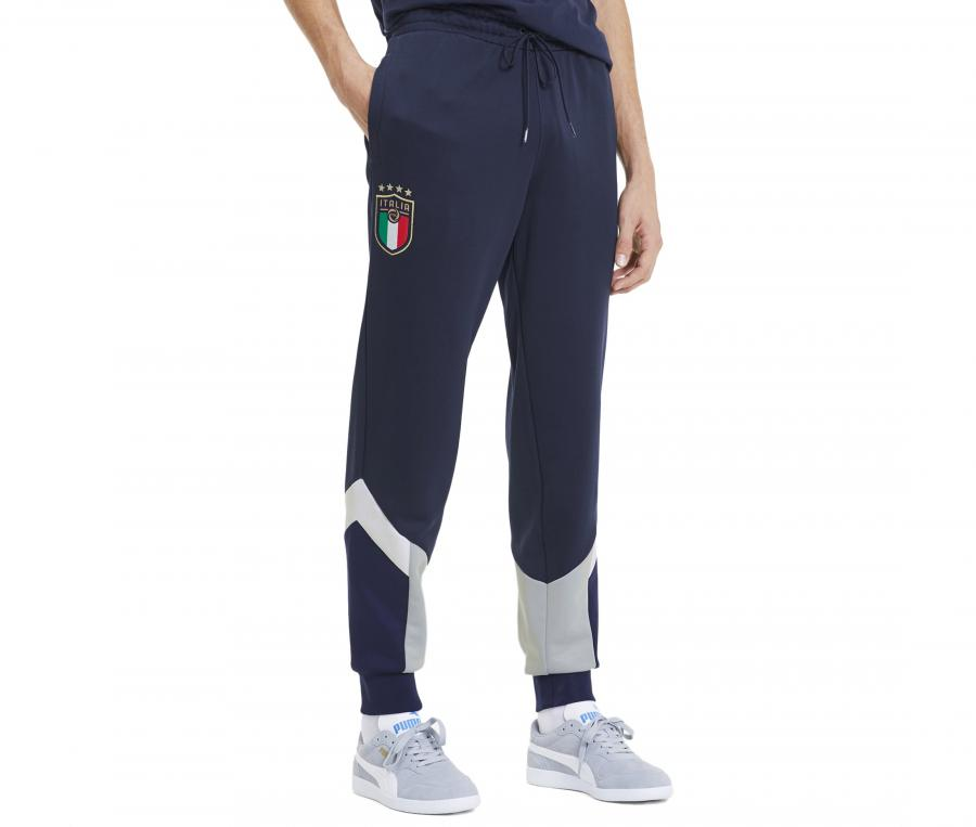 Pantalon Italie Iconic Bleu