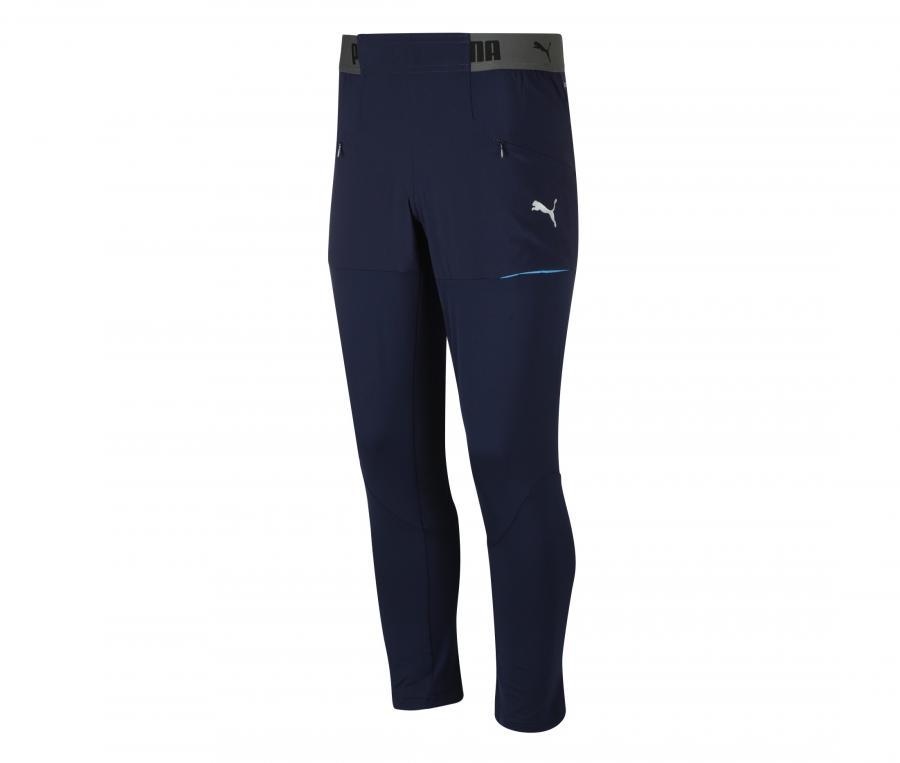 Pantalon OM Entraînement Bleu Junior