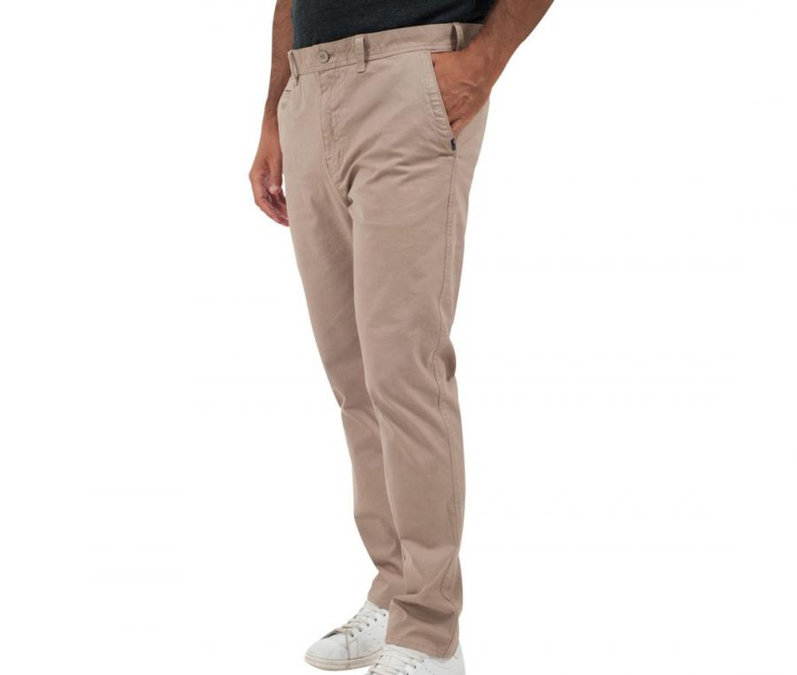 Pantalon chino Classic All Blacks Garment Dye Marron