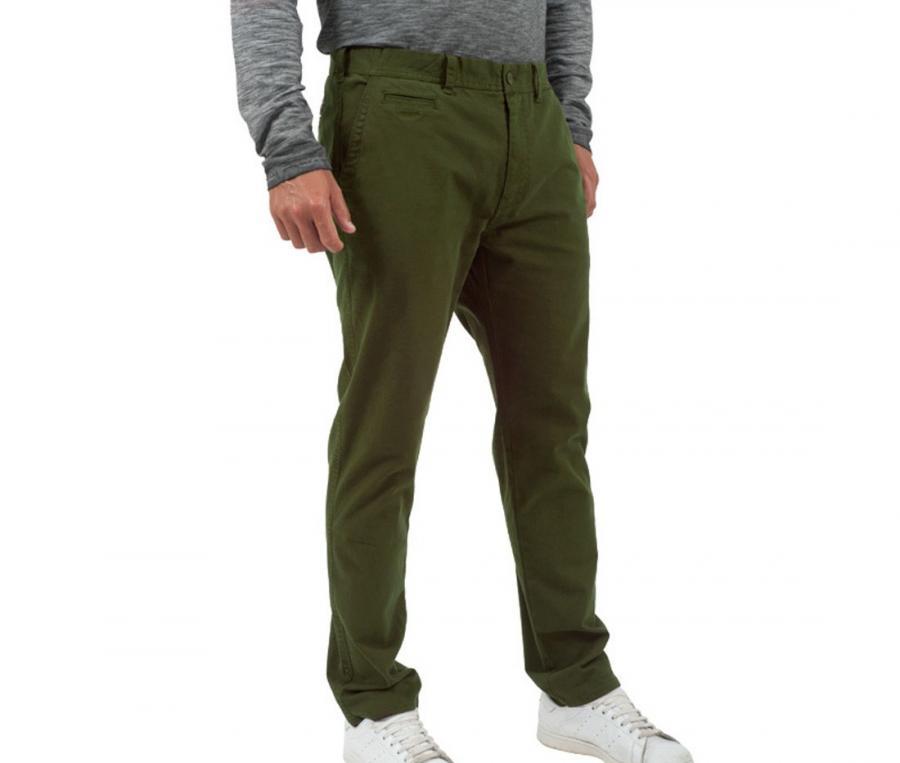 Pantalon chino Blacks Legend Garment Dye Vert
