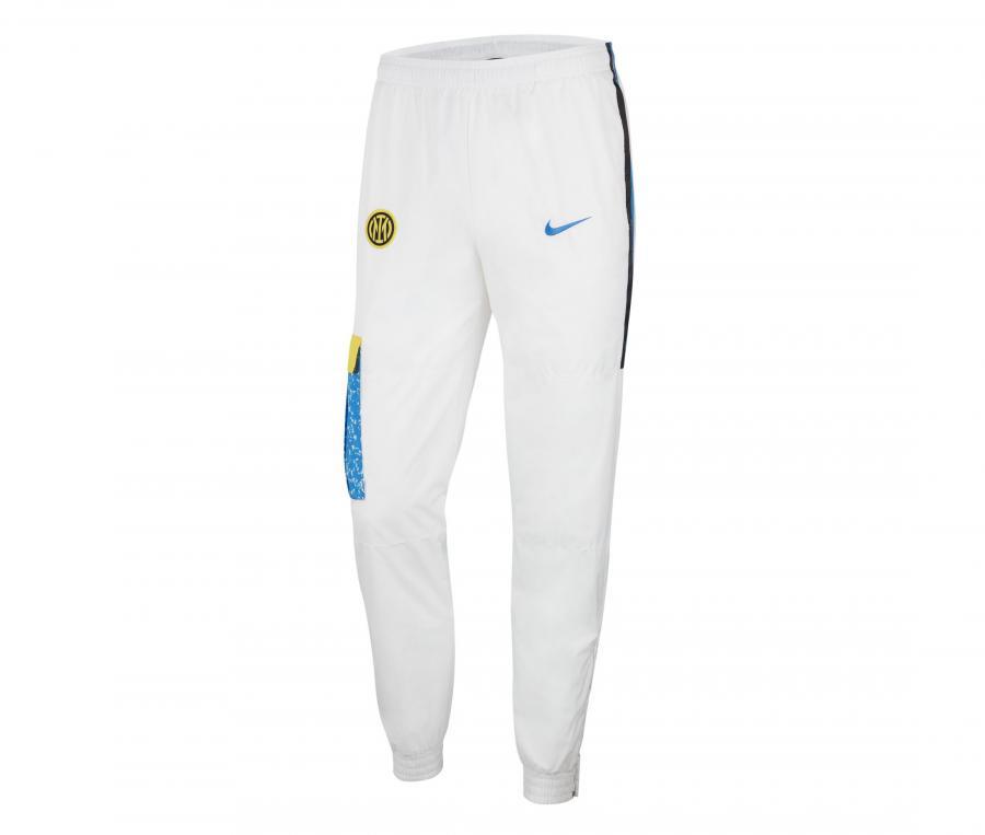 Pantalon Inter Milan Woven Blanc
