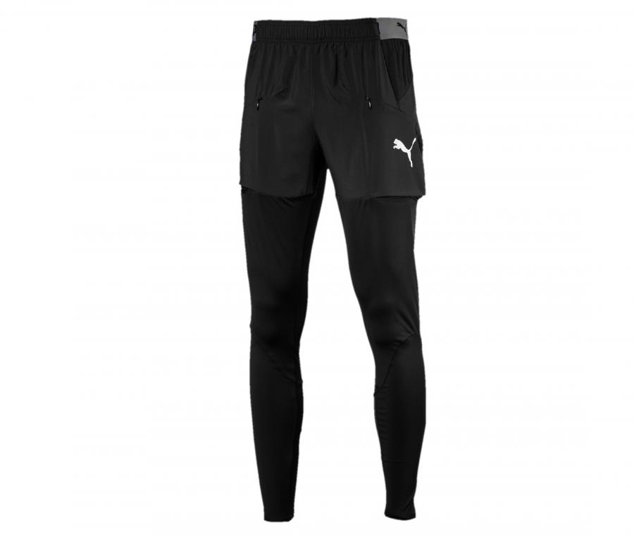 Pantalon Entraînement AC Milan Pro Noir Junior