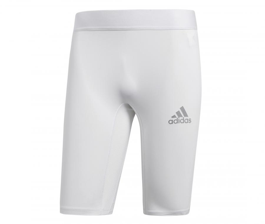 Sous-Short Compression adidas Alphaskin Blanc