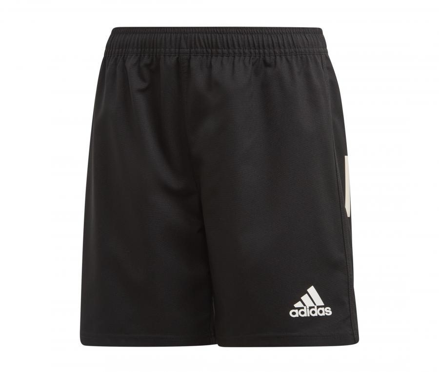Short adidas 3 Stripes Rugby Noir Junior