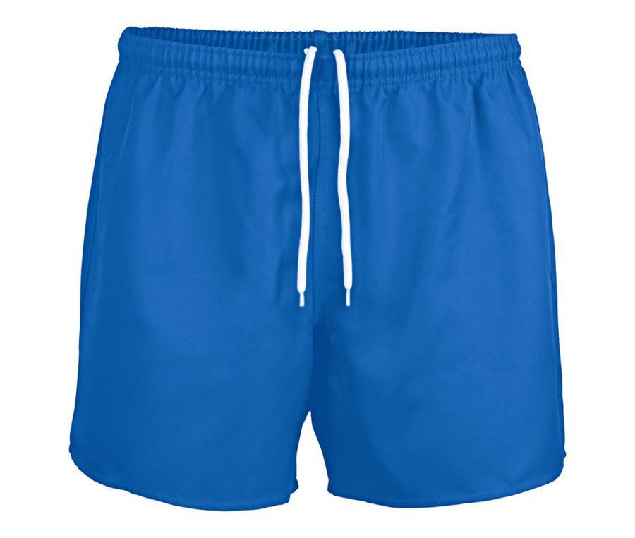 Short rugby sans poche Junior bleu