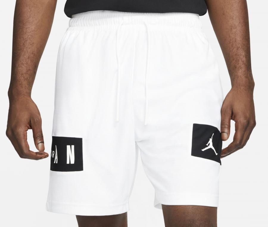Short Air Jordan Blanc