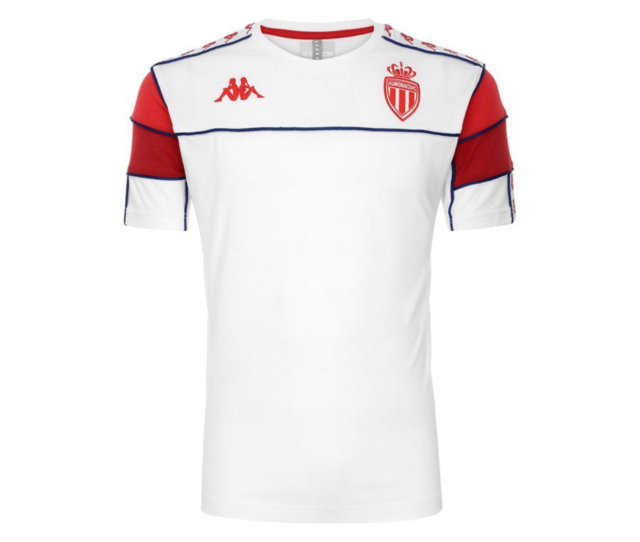 T-shirt AS Monaco 222 Banda Arari Blanc