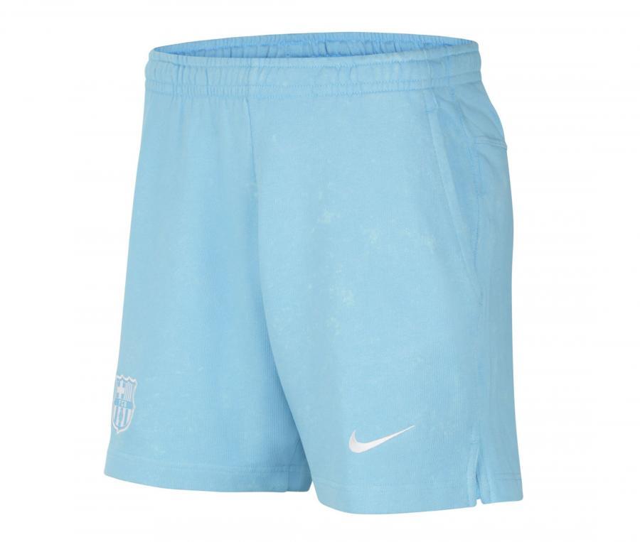 Short Barça Bleu