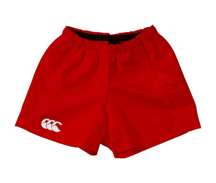 Short Canterbury Advantage Match Pro Rouge