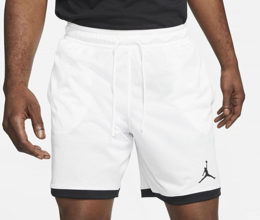 Short Jordan Air Knit Blanc