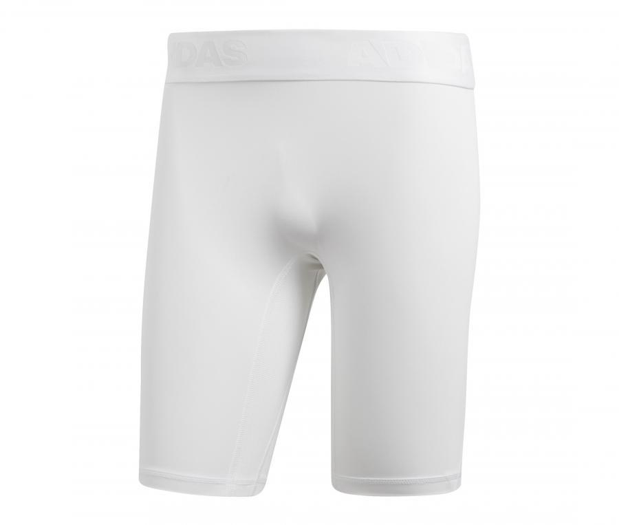 Sous-short adidas Alphaskin Blanc
