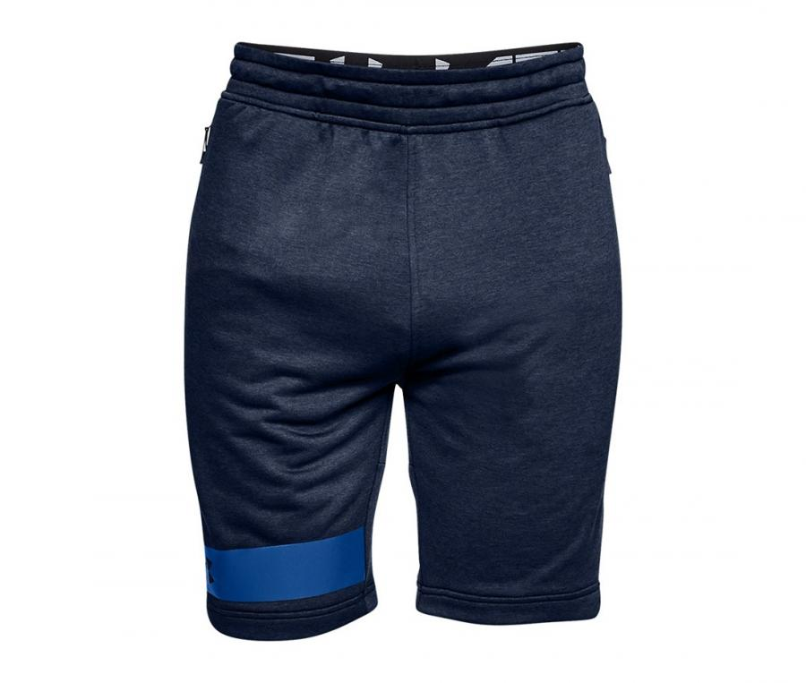 Short Under Armour MK-1 Terry Bleu