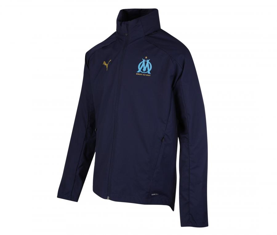 OM Hooded Jacket Blue