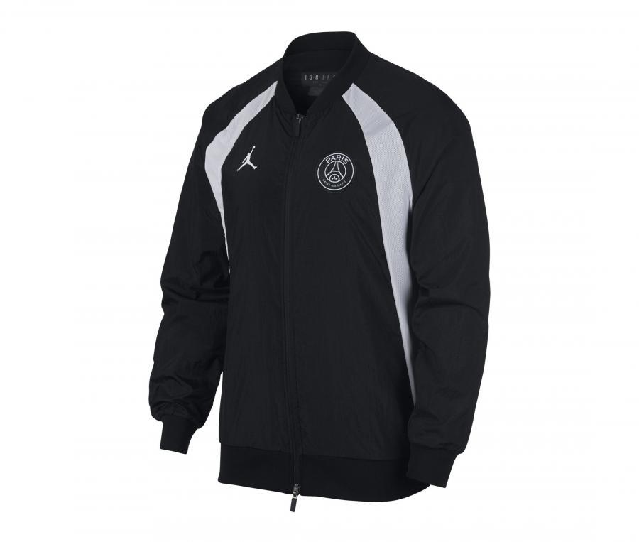 Veste Jordan x PSG AJ 1  Noir/Blanc