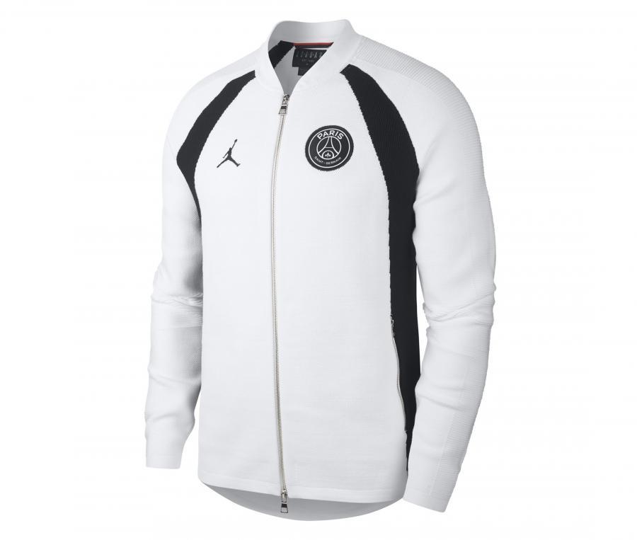 Veste Jordan x PSG Fly Knit Blanc