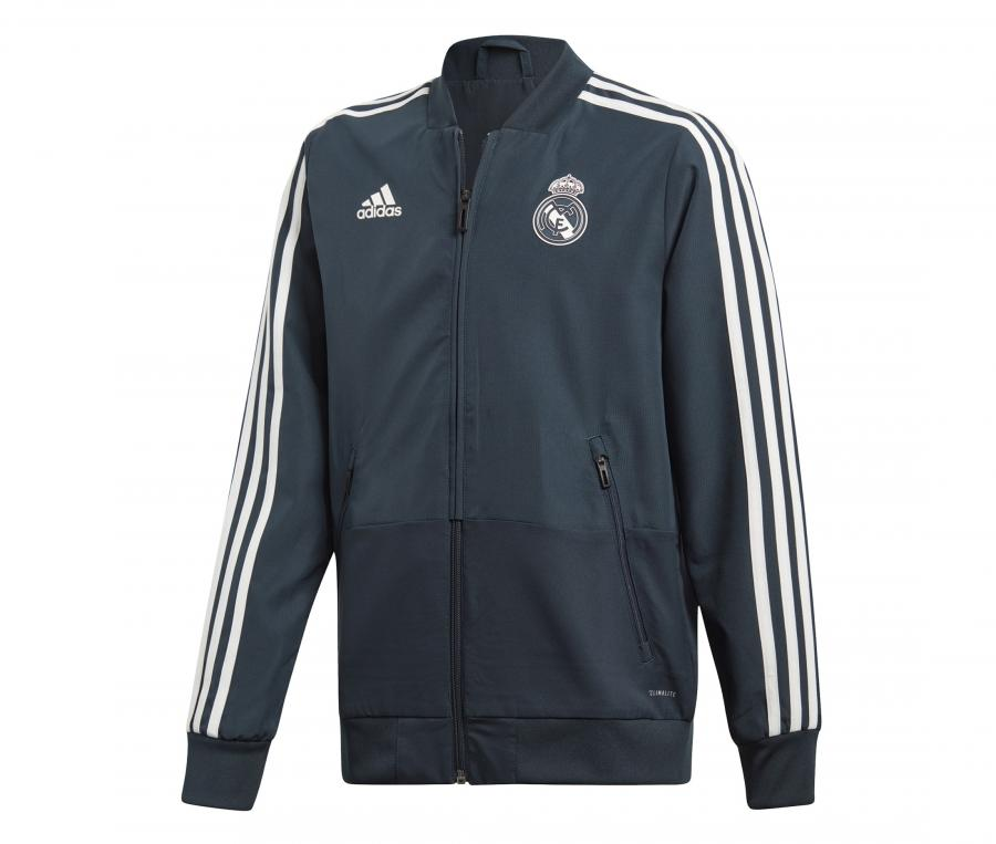 Veste Présentation Real Madrid adidas Gris Junior