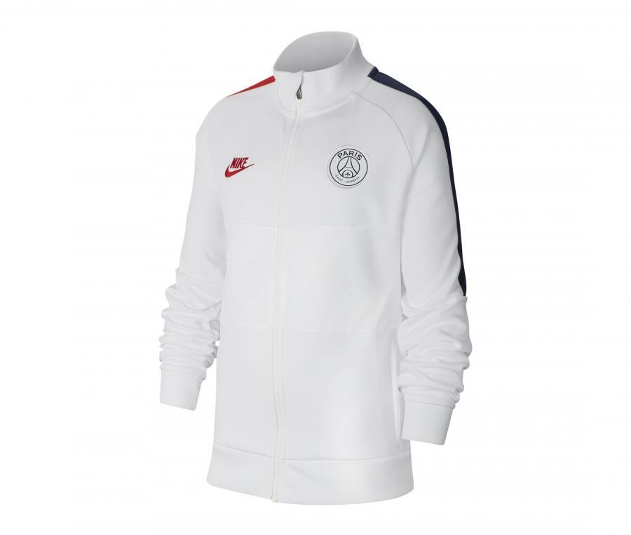 Veste PSG Blanc Junior