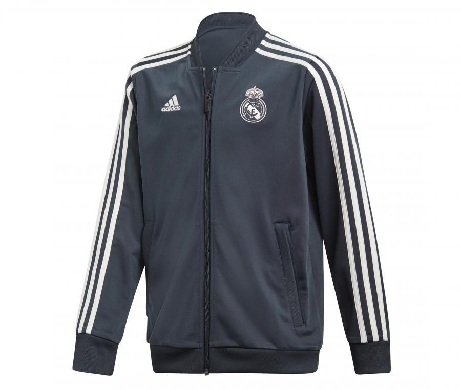 Veste Entraînement Real Madrid Gris Junior