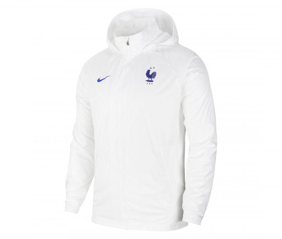 Veste à capuche France AWF Lite Blanc