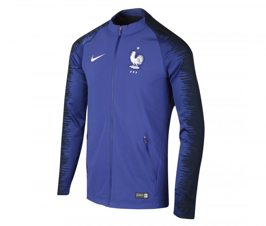 Veste FFF Nike Strike Bleu