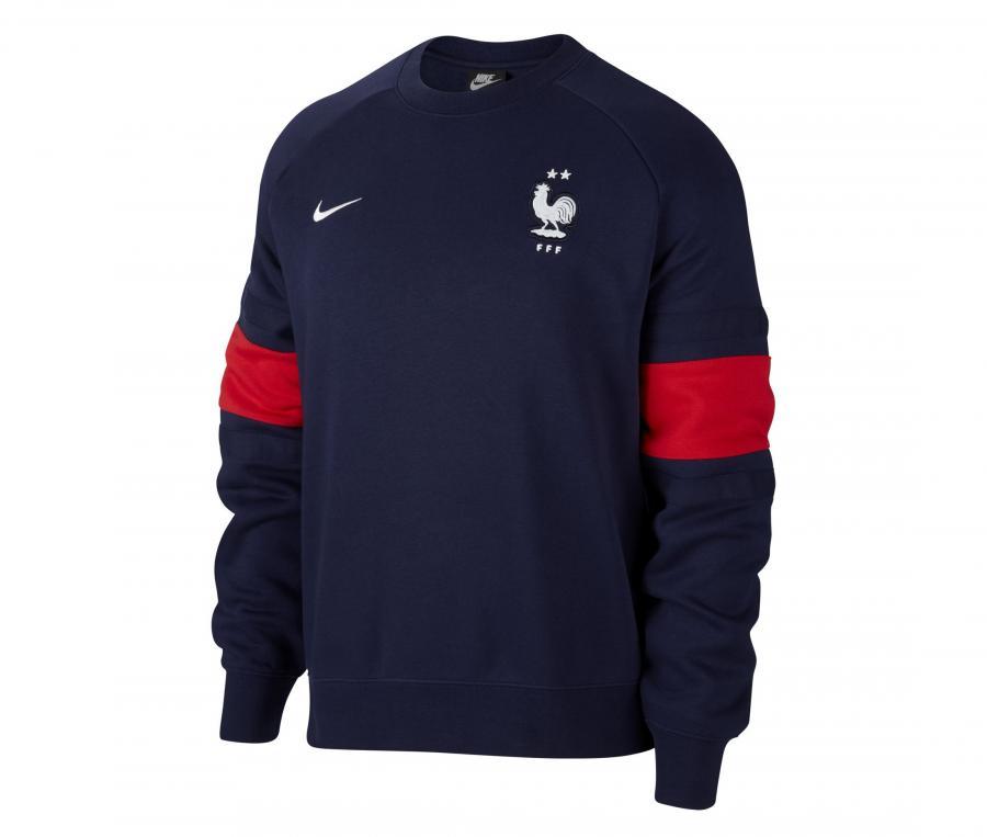 Sweat-shirt France Air Fleece Bleu