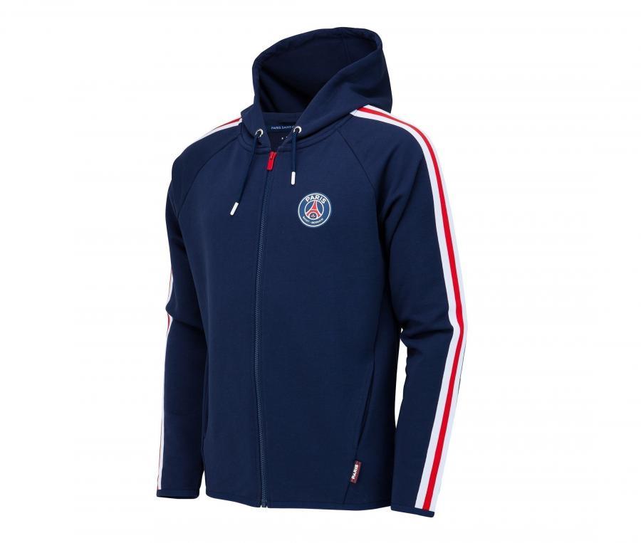 Veste à capuche PSG Bleu Junior