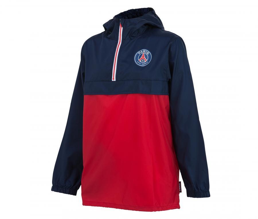 Coupe Vent PSG Rouge/Bleu Junior