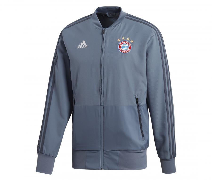 Veste Présentation Bayern Munich Gris