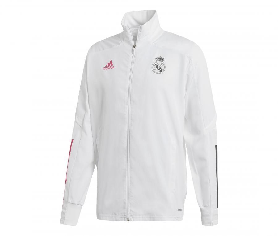 Veste Présentation Real Madrid Blanc