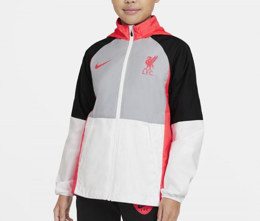 Veste à capuche Liverpool Blanc Junior