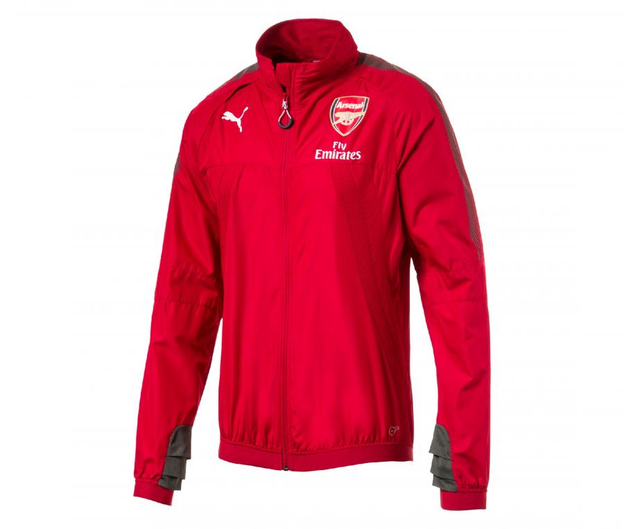 Coupe Vent Arsenal Rouge