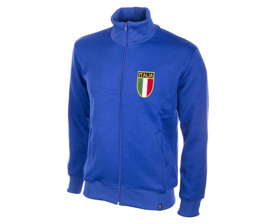 Veste Rétro Italie 1970 Bleu
