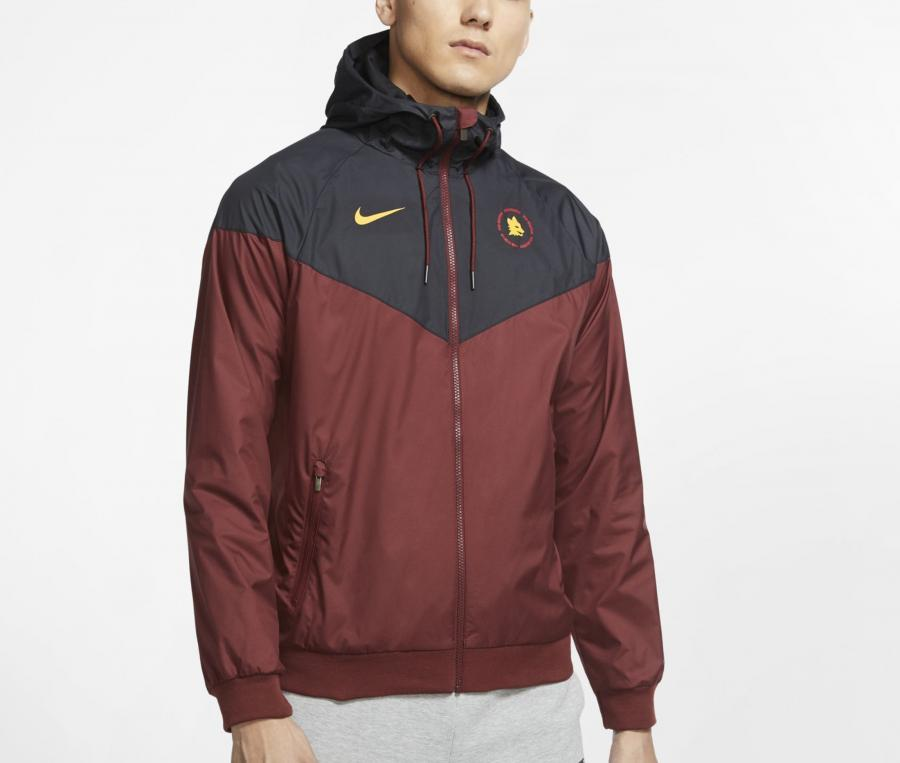 Veste à capuche Nike AS Roma Windrunner