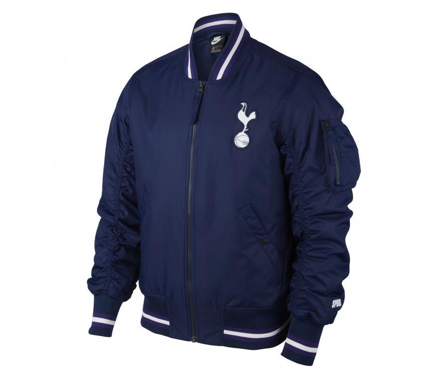 Veste Tottenham AF1 Woven Bleu