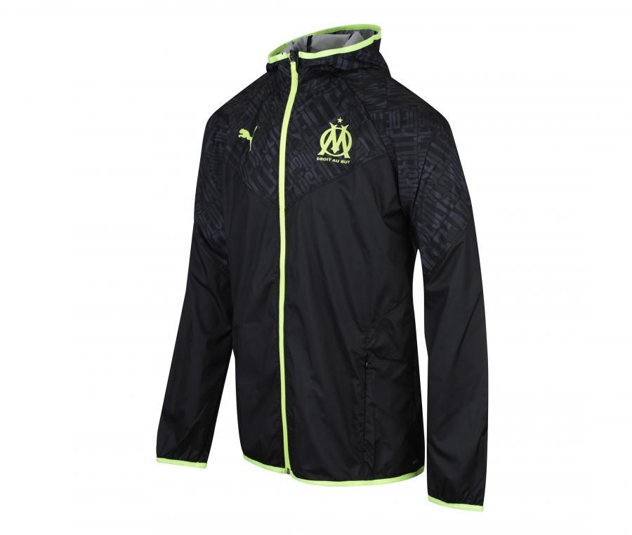 OM Warm Up Hooded Jacket Black