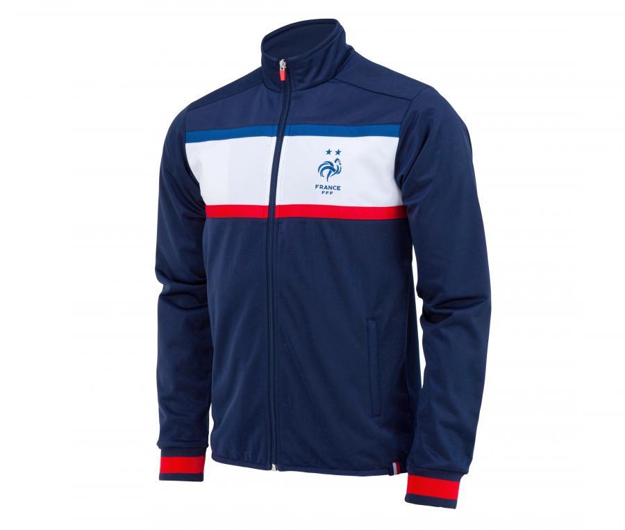 Veste France Fan Bleu