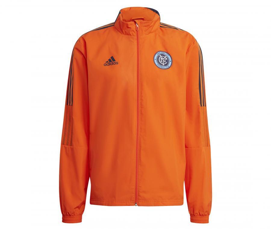 Veste à capuche New York City FC All-Weather Orange