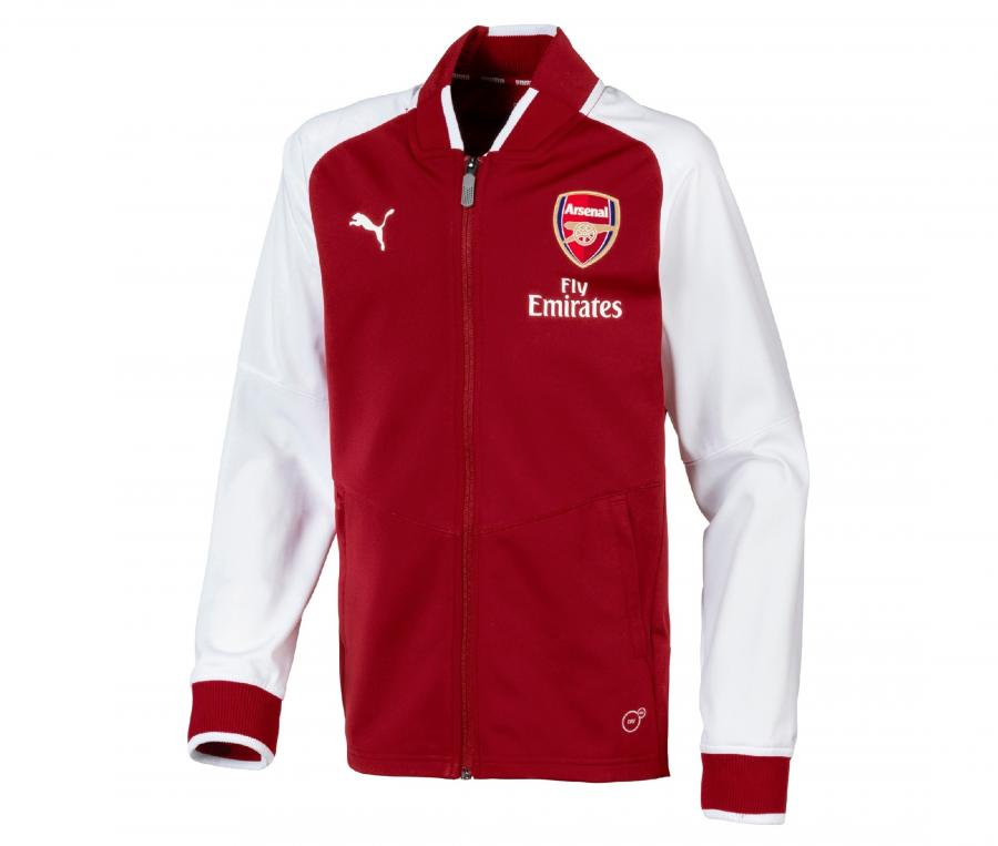 Veste Arsenal Stadium Rouge/Blanc
