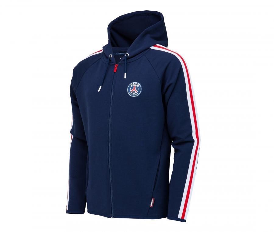 Veste à capuche PSG Bleu