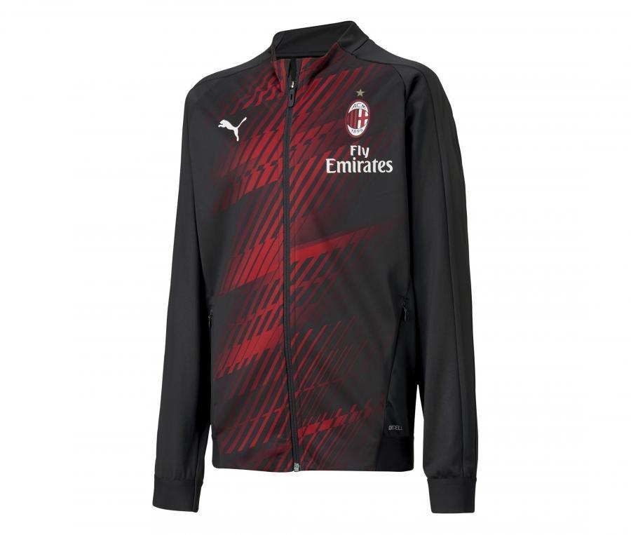 Veste AC Milan Stadium Noir Junior