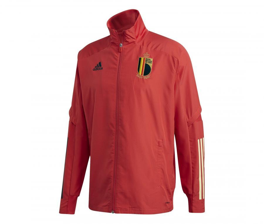 Veste Présentation adidas Belgique Rouge