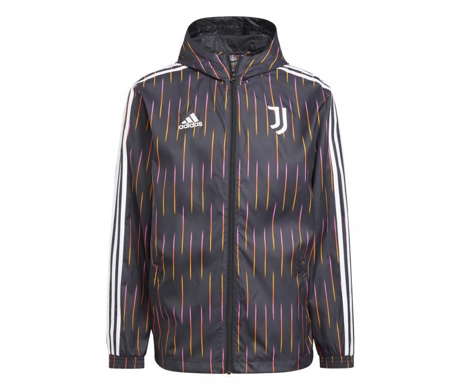 Coupe-Vent Juventus Noir