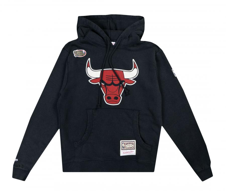 Sweat à capuche Chicago Bulls Noir